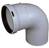 Колено для конденсационного котла Regulus 80 мм 90°