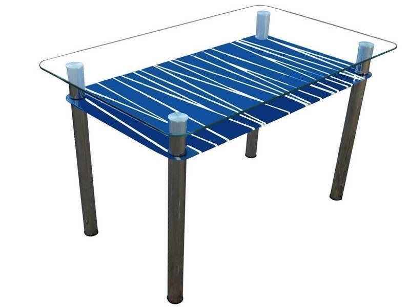 Обеденный стол Зебра