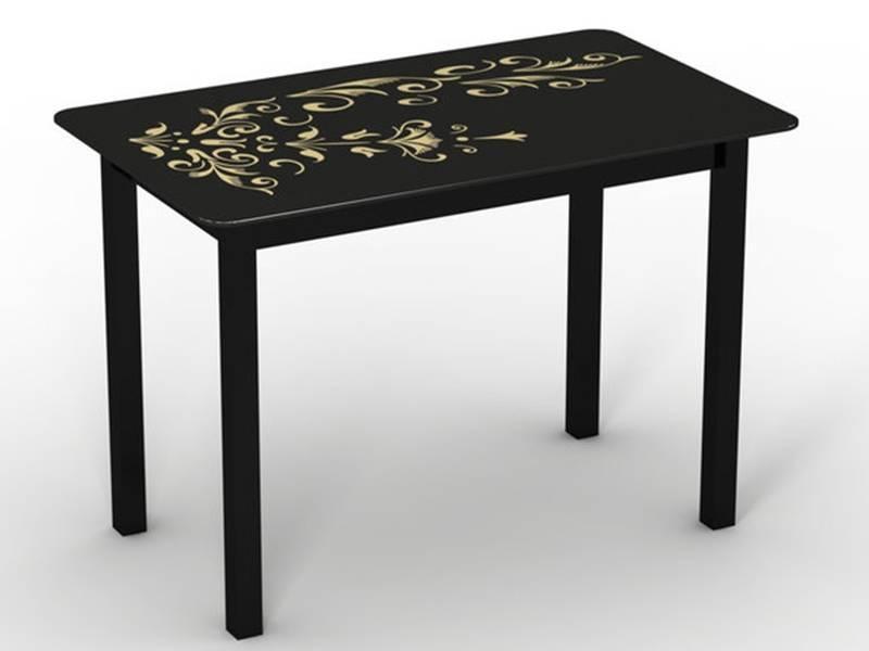 Обеденный стол Монарх Черный зефир