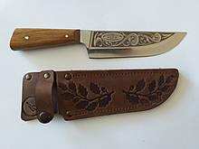 Нож охотничий в кобуре