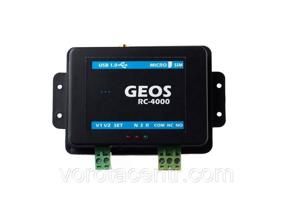 GSM модуль RC-4000, контроль доступа з мобільного телефона