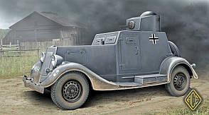 Легкий бронеавтомобиль Ба-20, ранний. 1/48 ACE 48108