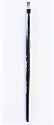 Кисть Pinax Hi-Tech 244 Синтетика № 4 плоская удлиненный ворс, фото 2