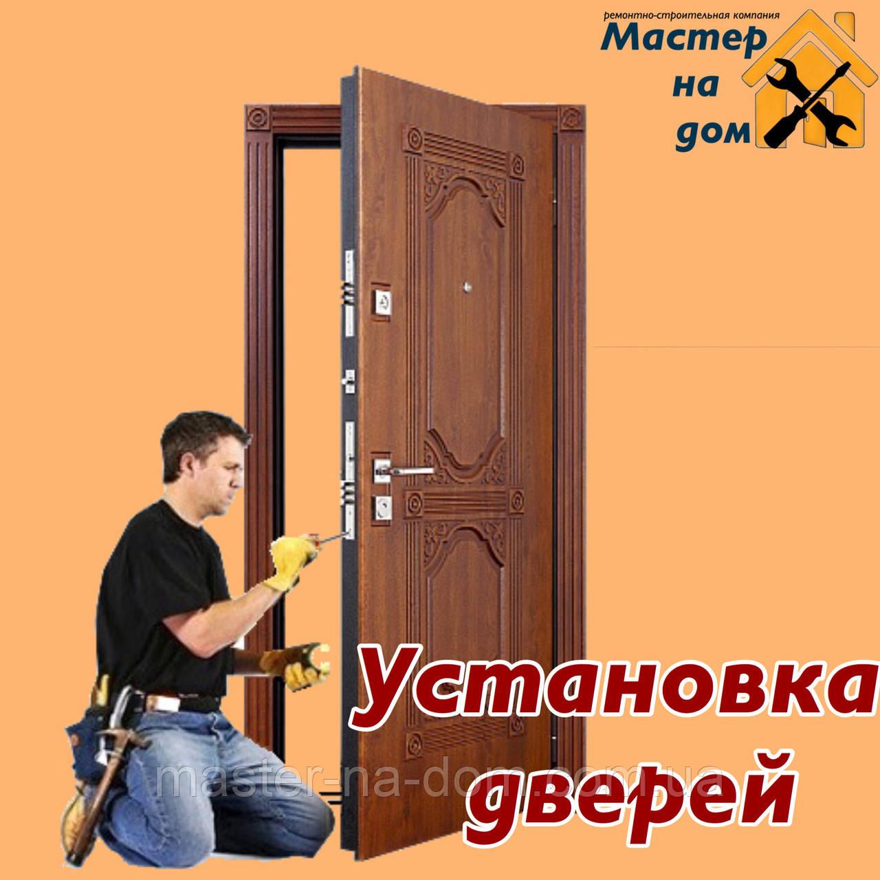 Установка входных и межкомнатных дверей в Запорожье, фото 1