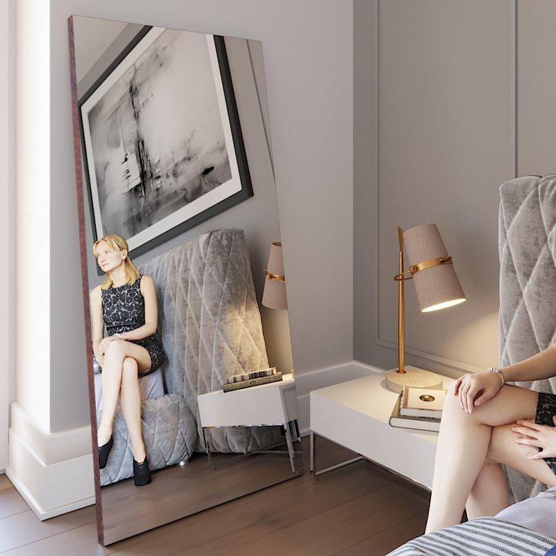 Зеркало напольное Версаль