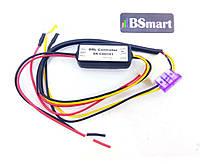 Блок реле подключения, контроллер LED ДХО (DRL) для светлодидных ламп