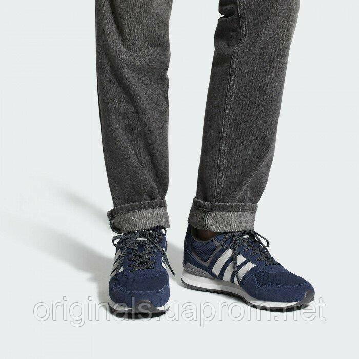 Кроссовки Adidas 10K мужские в синем цвете