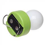 Лампочка пластиковая с встроенным магнитом и с металлическим карабином, цвет Лайм - su 95776119, фото 5