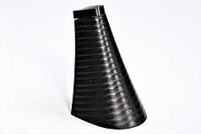 Каблук женский пластиковый 701 р.1-3  h-7,2-7,9 см., фото 3