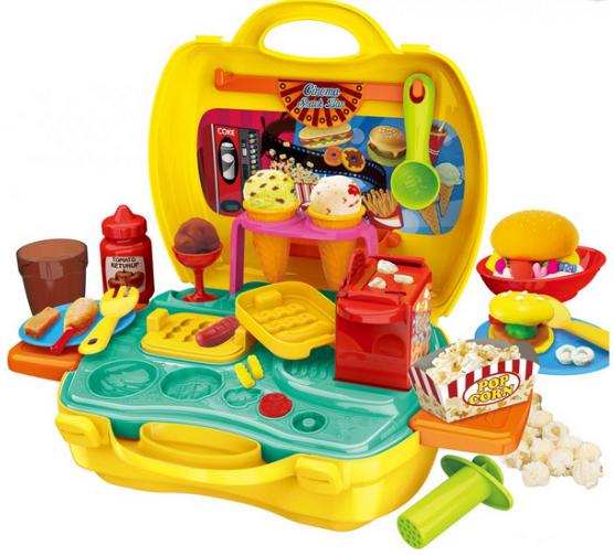 Волшебный набор пластилина  в чемоданчике.Детский набор пластилина для детского творчества.