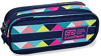 Пенал школьный CoolPack CLEVER B65101, синий