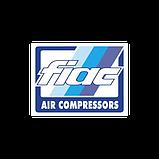 Компрессор поршневой FIAC ABB 515 T (380V) (пр-сть 482 л/мин/ без ресивера) FIAC 1122030084 (Италия), фото 2