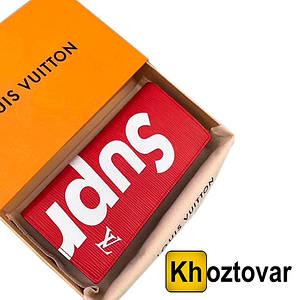 Мужской клатч на кнопке Louis Vuitton | ПортмонеСуприм Луи Витон