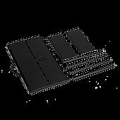 Складной мангал чемодан на 8 шампуров