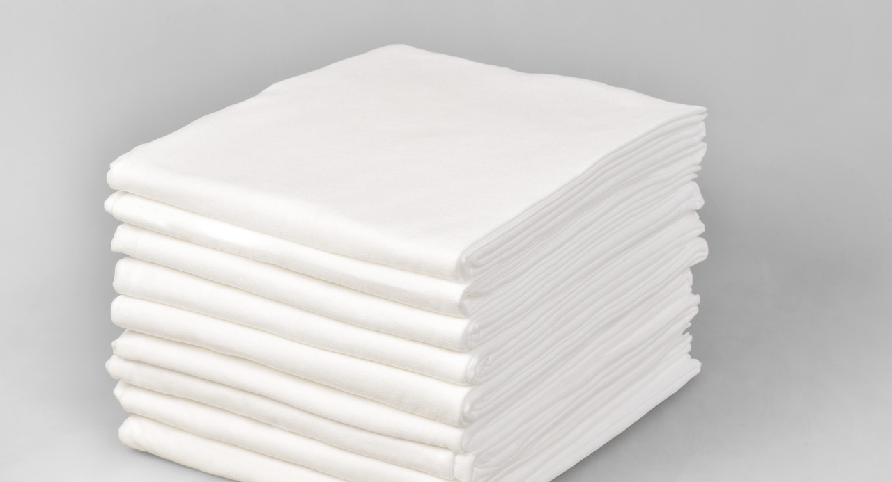 Одноразовые простыни в пачке Спанбонд Doily 25 г/м² 0,6x2 м 10 ШТ/УП Белые