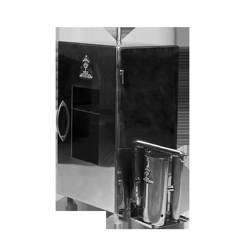 Коптильня холодного копчения нержавейка (66х38х31)