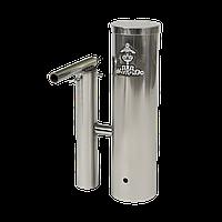 Дымогенератор с охладителем и конденсатосборником 2,5л нержавейка, фото 1