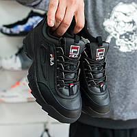 Мужские кроссовки Fila Disruptor II Black