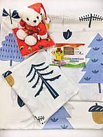 Детский комплект постельного белья в кроватку Лесная поляна