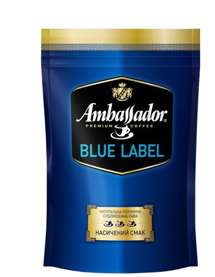 Кофе молотый Ambassador Blue Label 100 г