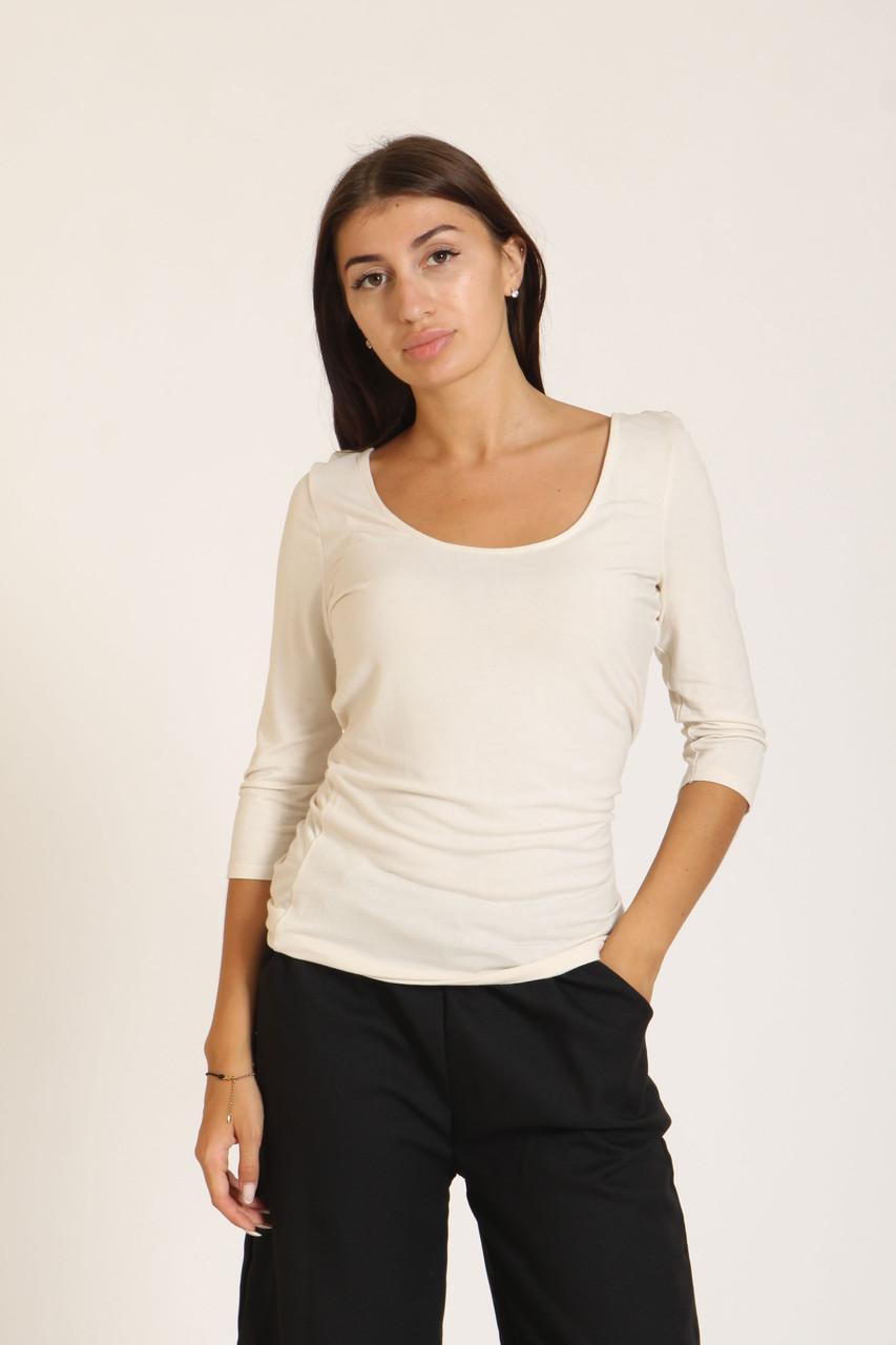 Пуловер Bershka XL бежевый (7410-987-323)