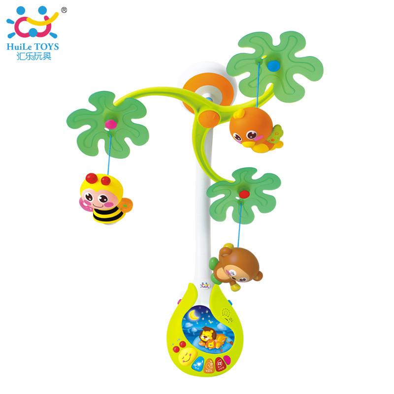 """Музыкальный мобиль Huile Toys """"Веселый остров"""""""