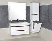 Комплект навесной мебели для ванной комнаты ТМ Аква Родос Венеция 80