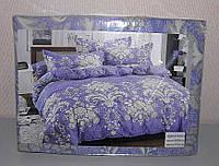 Комплект постельного белья полуторный мягкий Classic сатин (F-555)