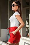 Женская белая футболка с принтом фламинго, фото 2
