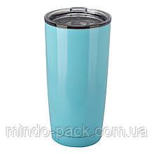 Термокружка YETI Rambler Tumbler 20 OZ (Голубой)