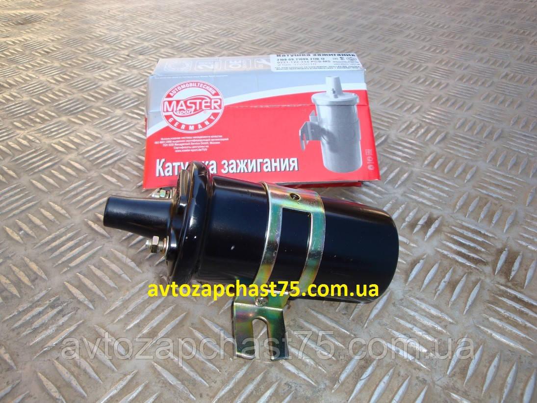Катушка зажигания Ваз 2108, 2109, 21099, 21093, бесконтактная система (производитель Master Sport, Германия)