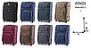 Комплект валіз 3-ка.на колесах wings, фото 2