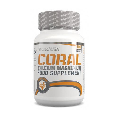 Coral Calcium - Magnesium (100 tabs) BioTech