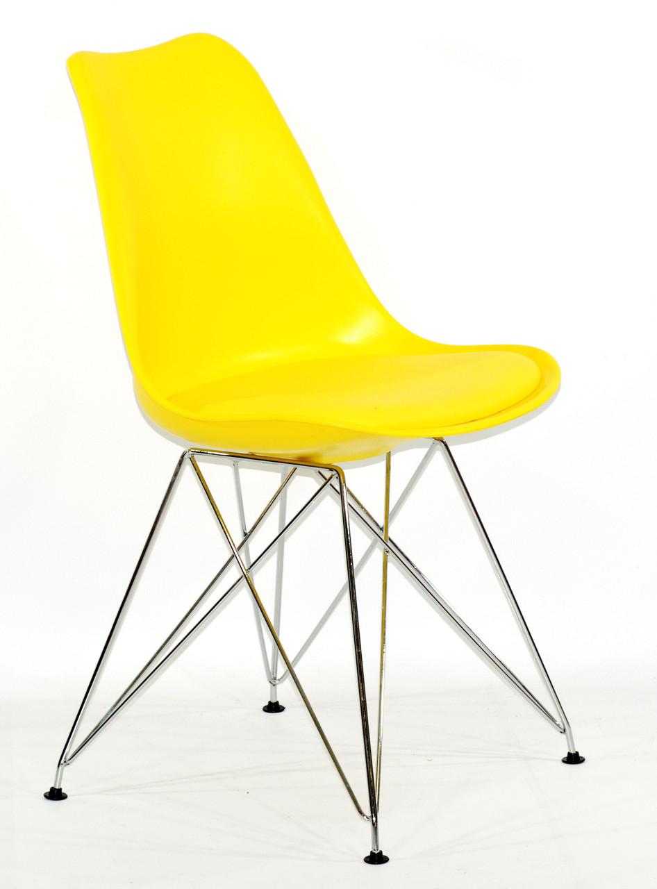 Стул Milan Chrom, желтый