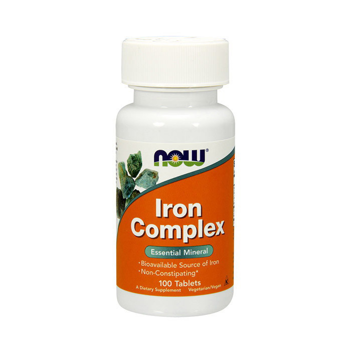 Iron Complex (100 tabs) NOW