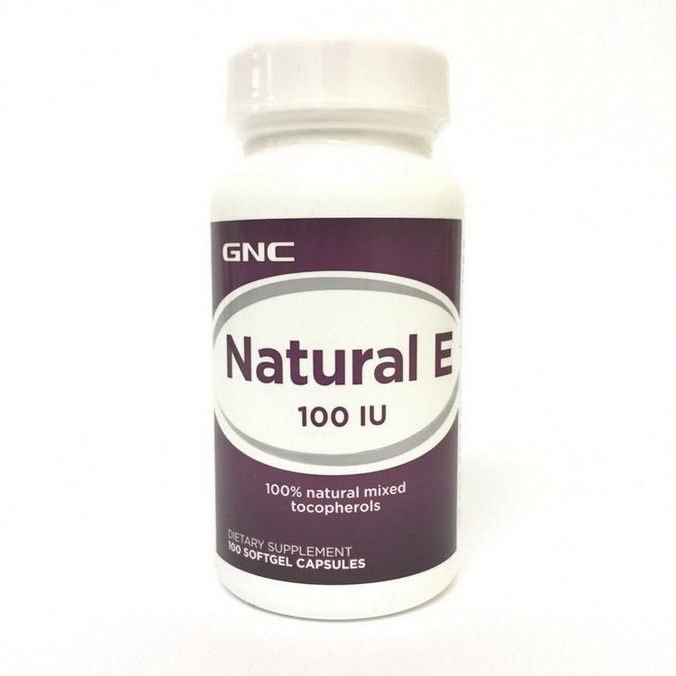 Natural E 100 (100 soft caps) GNC