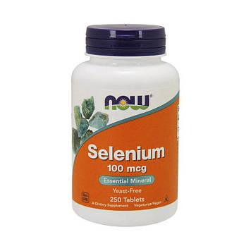 Selenium 100 mcg (250 tab) NOW