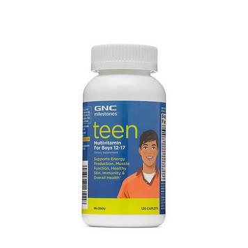 Teen Multivitamin for boys 12-17 (120 caplets) GNC