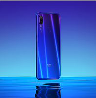 "Xiaomi Redmi Note 7 Global Blue на 4/64Gb +Чехол / 6.3"" (2340x1080) Snap 660 / 48Мп от Samsung GM1/4000мАч"