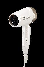 Фен ECG VV 1200 Travel G 1200 Вт Белый / Золотистый, фото 2