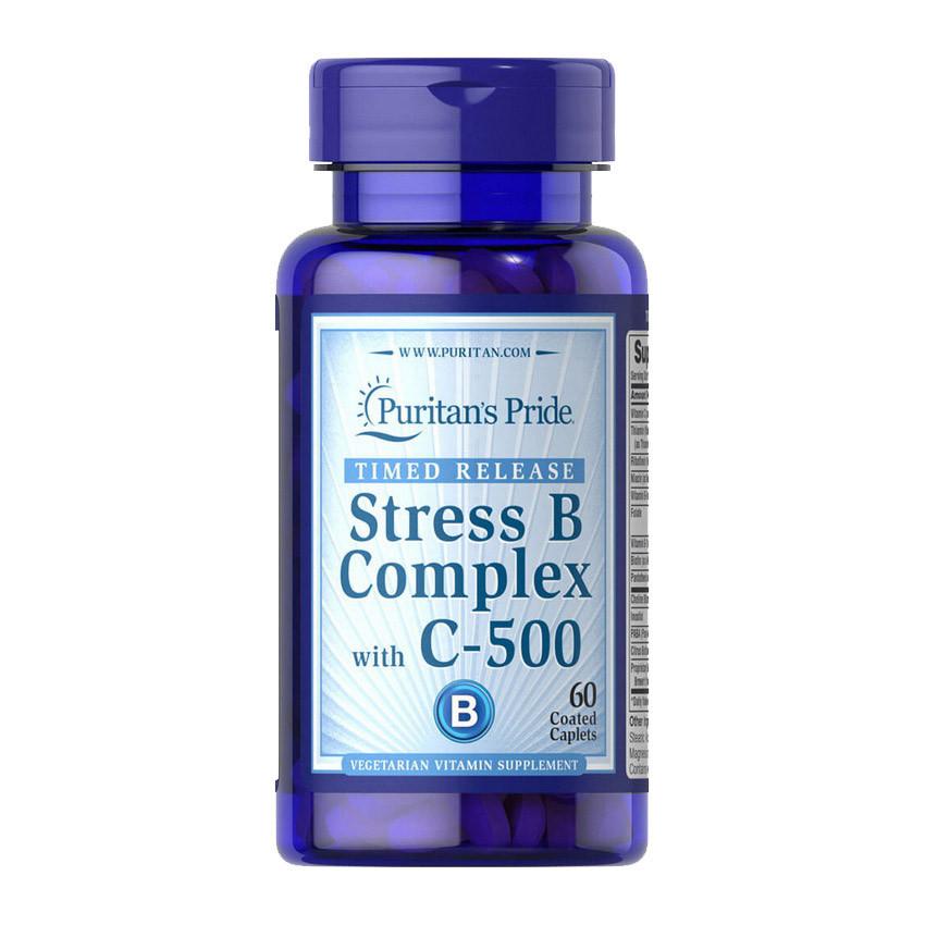 Stress B Complex with C-500 (60 caplets) Puritan's Pride