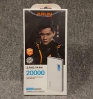 Внешний аккумулятор Arun Power Bank Y635 20000 mah