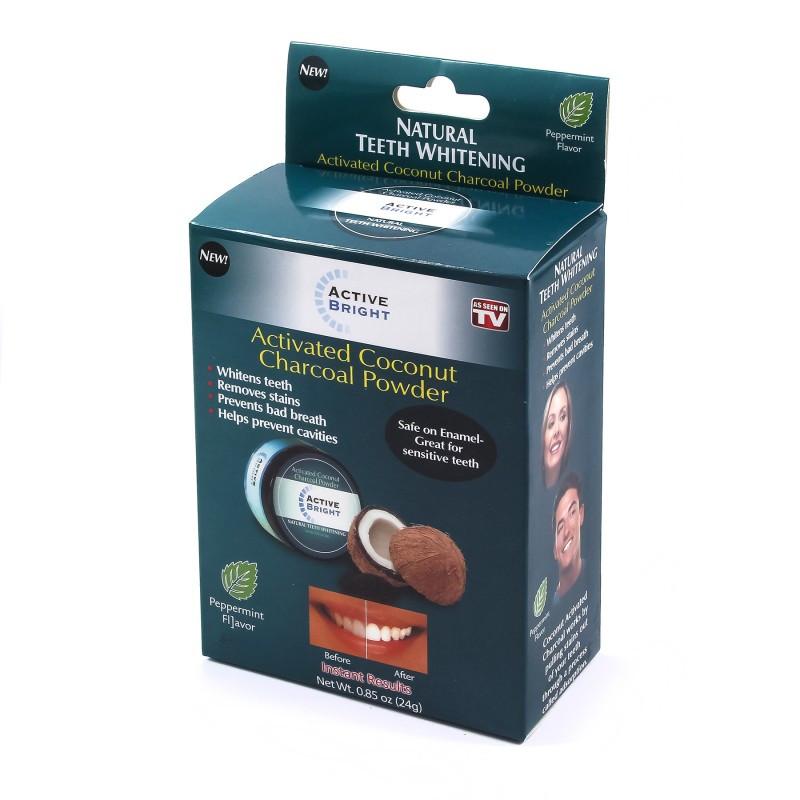 Отбеливатель для зубов Activated Coconut Charcoal Powder