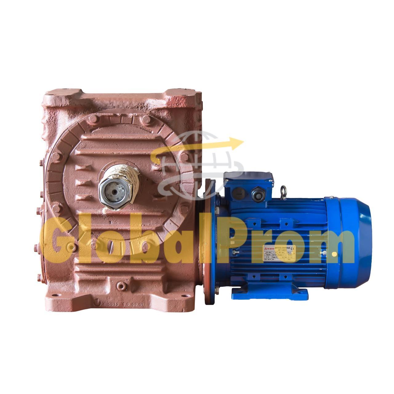 Мотор-редуктор червячный двухступенчатый МЧ2-63 100