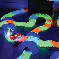 Magic Tracks 220 Mega Set Меджик Трек Мега 220 Сет   Детский конструктор Гибкий трек Гоночное шосе