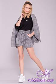 Модные женские шорты с высокой посадкой (р. S, M, L) арт. 6882 - 42443