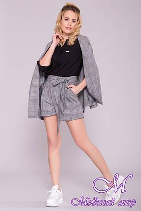 Модные женские шорты с высокой посадкой (р. S, M, L) арт. 6882 - 42443, фото 2