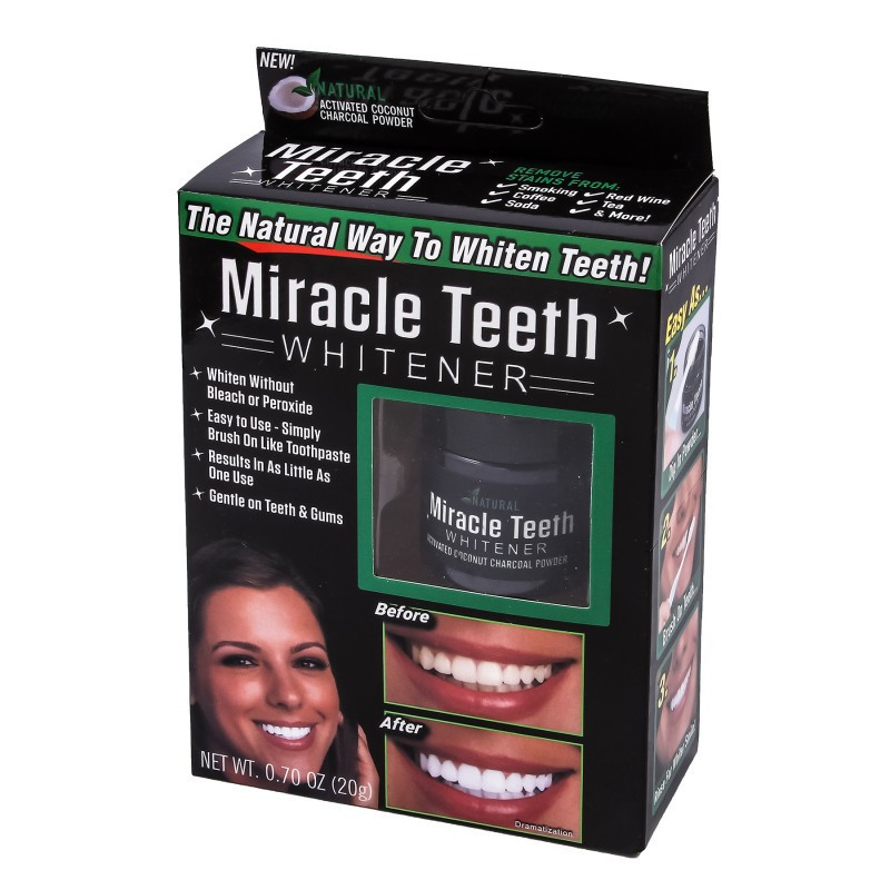 Отбеливатель для зубов Miracle Teeth Whitener