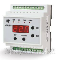 Новатек МСК-301 контроллер температурный, датчики температуры в стоимость не входят