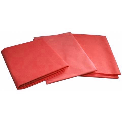Одноразовые простыни в пачке Спанбонд Doily 25 г/м² 0,6x2 м 10 УП 100 ШТ Красные